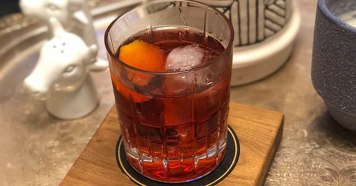 Picture of Boulevardier cocktail