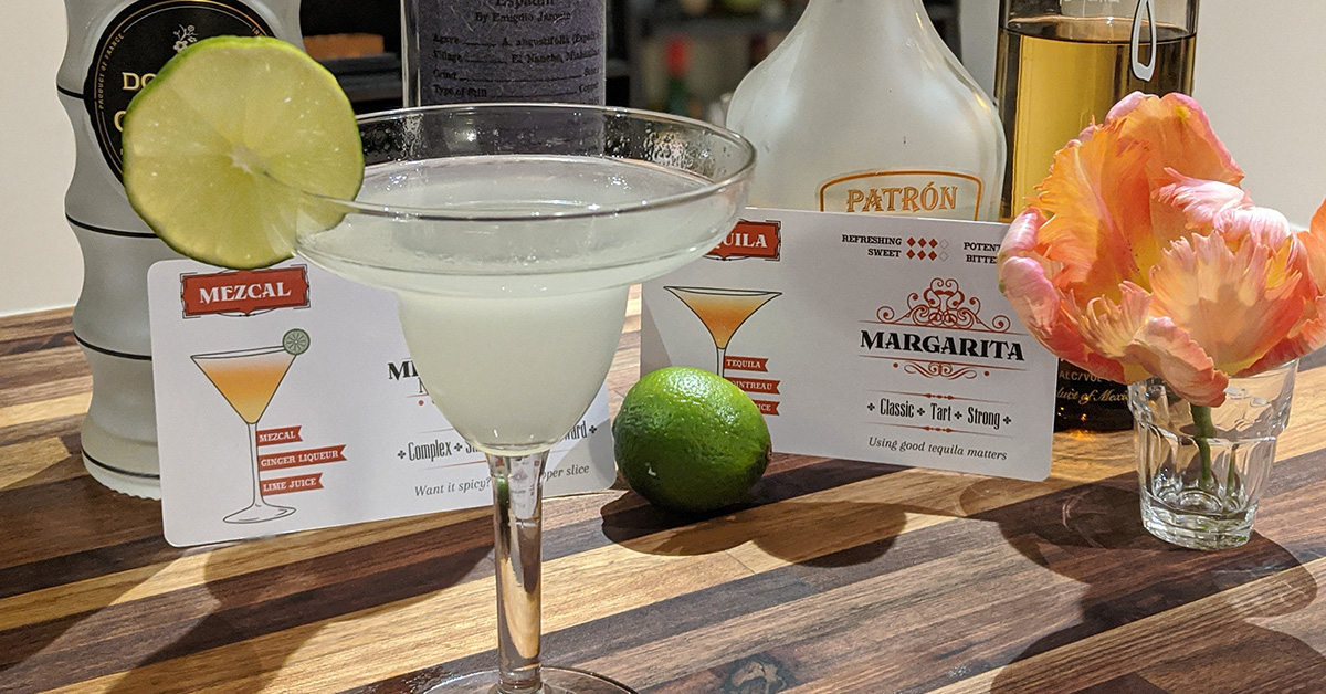picture of Ginger Mezcal Margarita